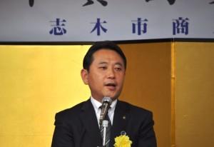まちづくり将来ビジョンを語る香川市長
