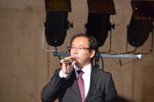 宗岡第二中学校で教えた金子恵介先生