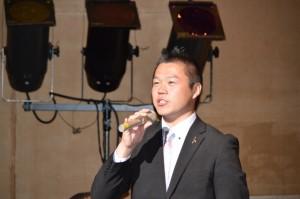 宗岡第二中学校で教えた藤本正樹先生