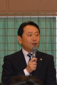 香川市長から励ましの言葉