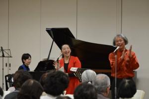司会(講師)の大野幸則さん(右)と津田伸子さん